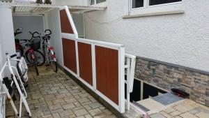 Balkon und Treppenverkleidungen