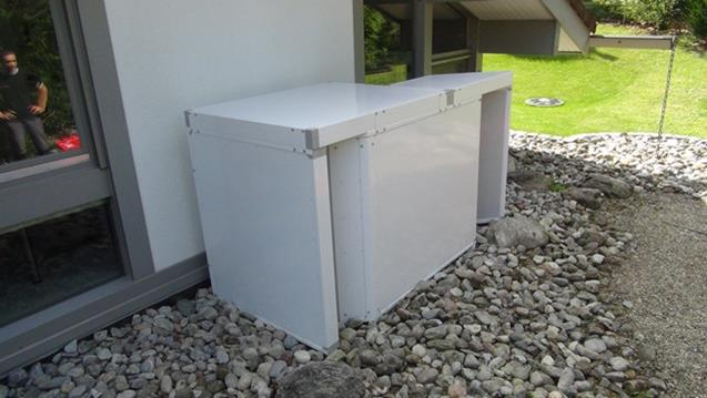 Schallschutz für Wärmepumpen ob 6 KW oder 60 KW