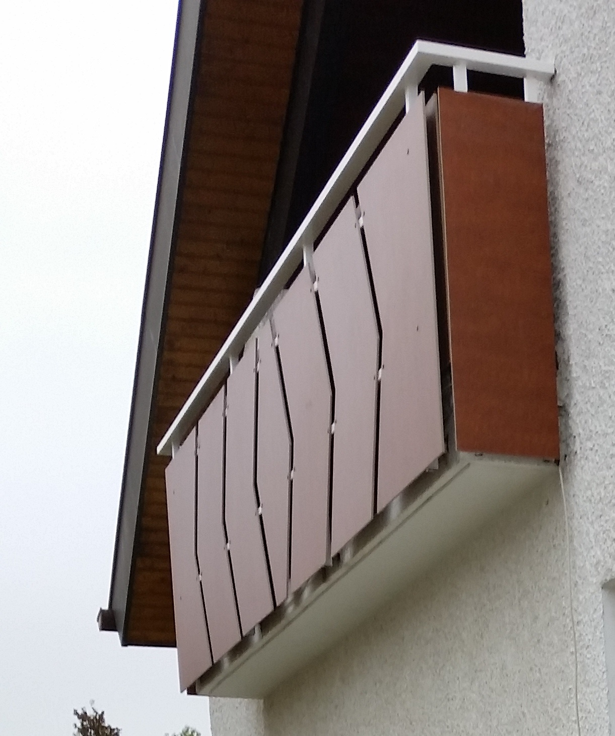 Balkonverkleidung Der Extraklasse Zeitlos Und Wetterbestandig Wird