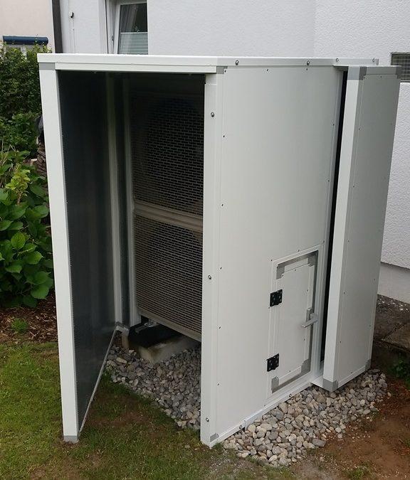 Schallschutzlösungen für Wärmepumpen